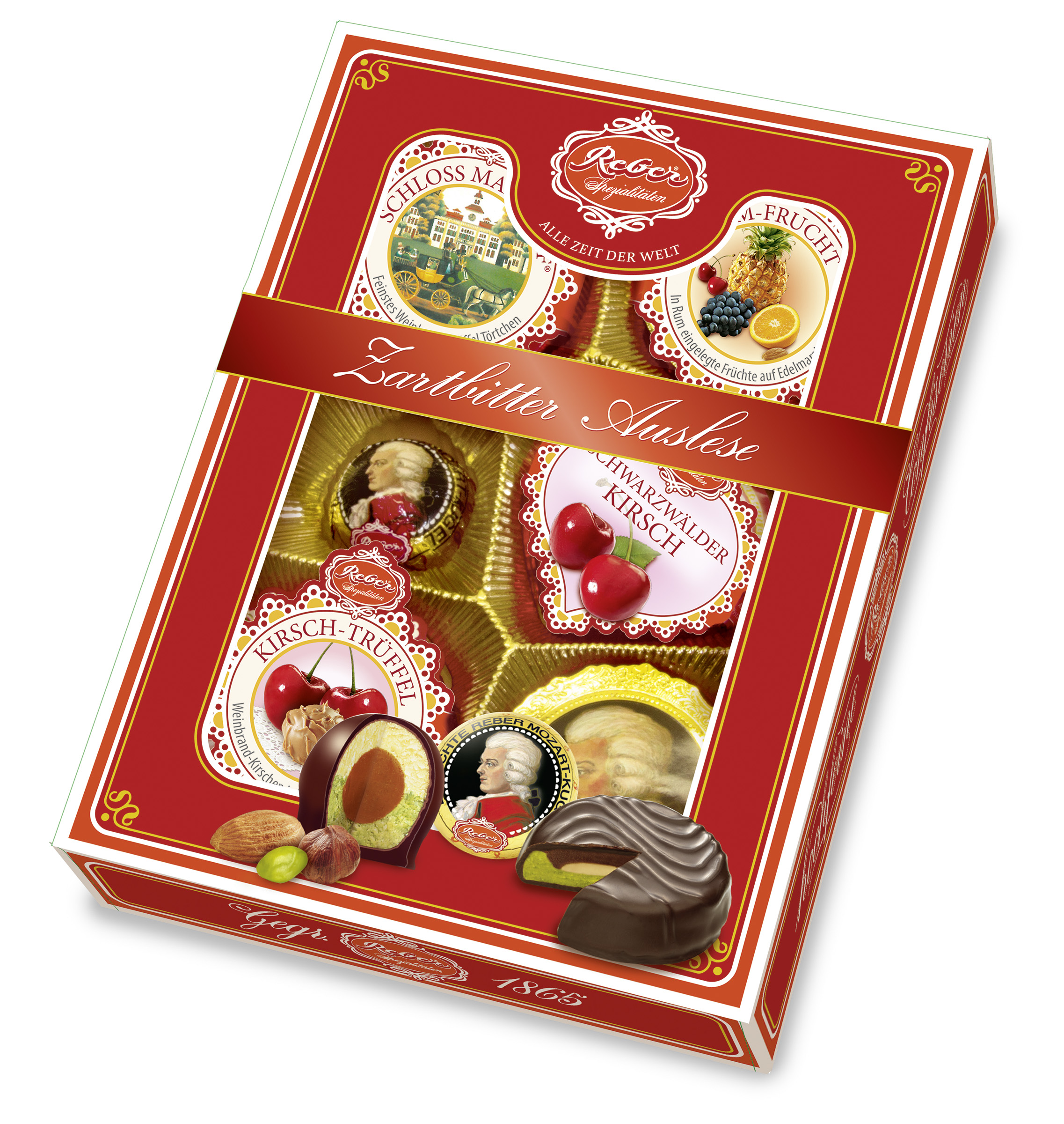 335- Reber Dark Chocolate Assortment 214g Image