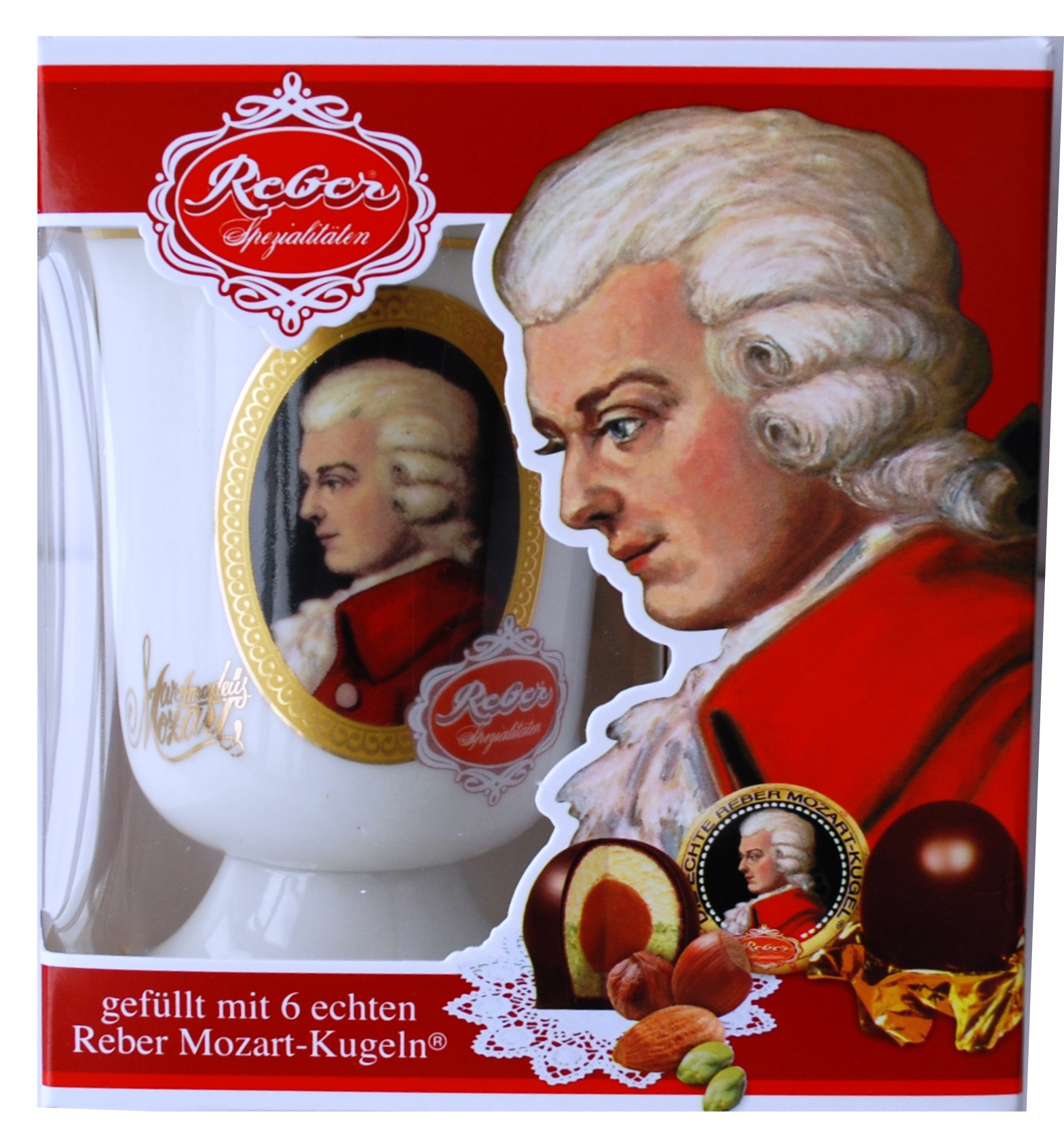 337- Mozart Cup + Kugel 120g Image