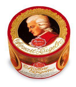 365- Mozart Kugel Round Plastic Box 220g Image