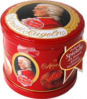 707- Mozart Music Christmas Tin 300g Image