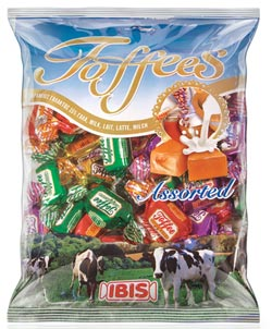IBIS Toffee Assorted 200/400g Image