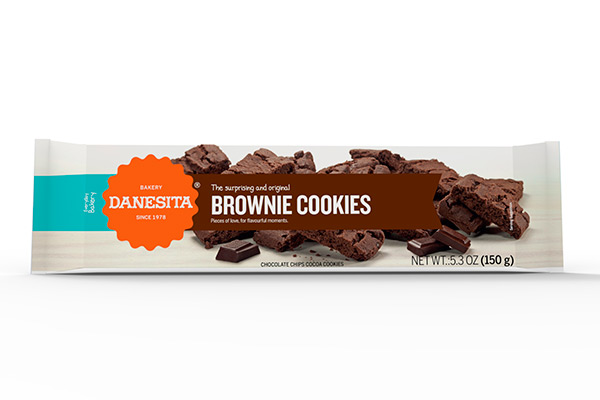Danesita Brownies Cookies 150g Image