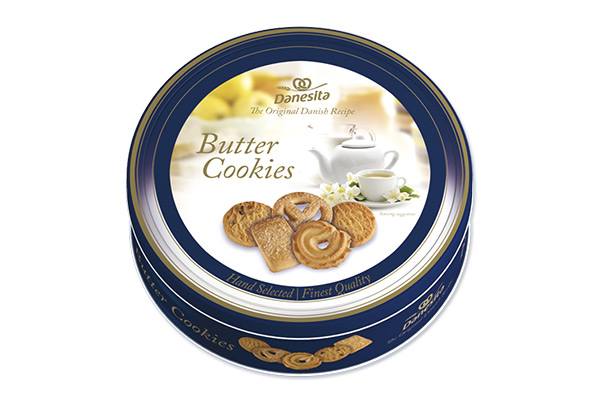 Danesita Danish Butter Cookies tin 454g Image