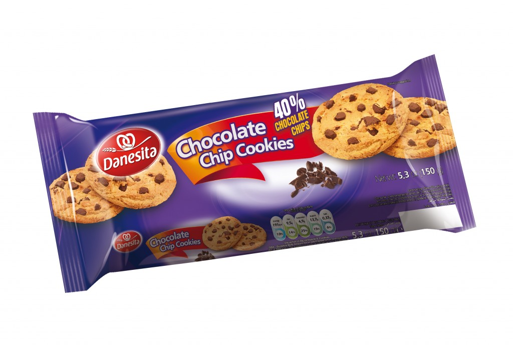 Danesita Chocolate Chip Cookies 150g Image