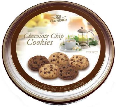 Danesita Chocolate Chips Assortment tin 454g Image