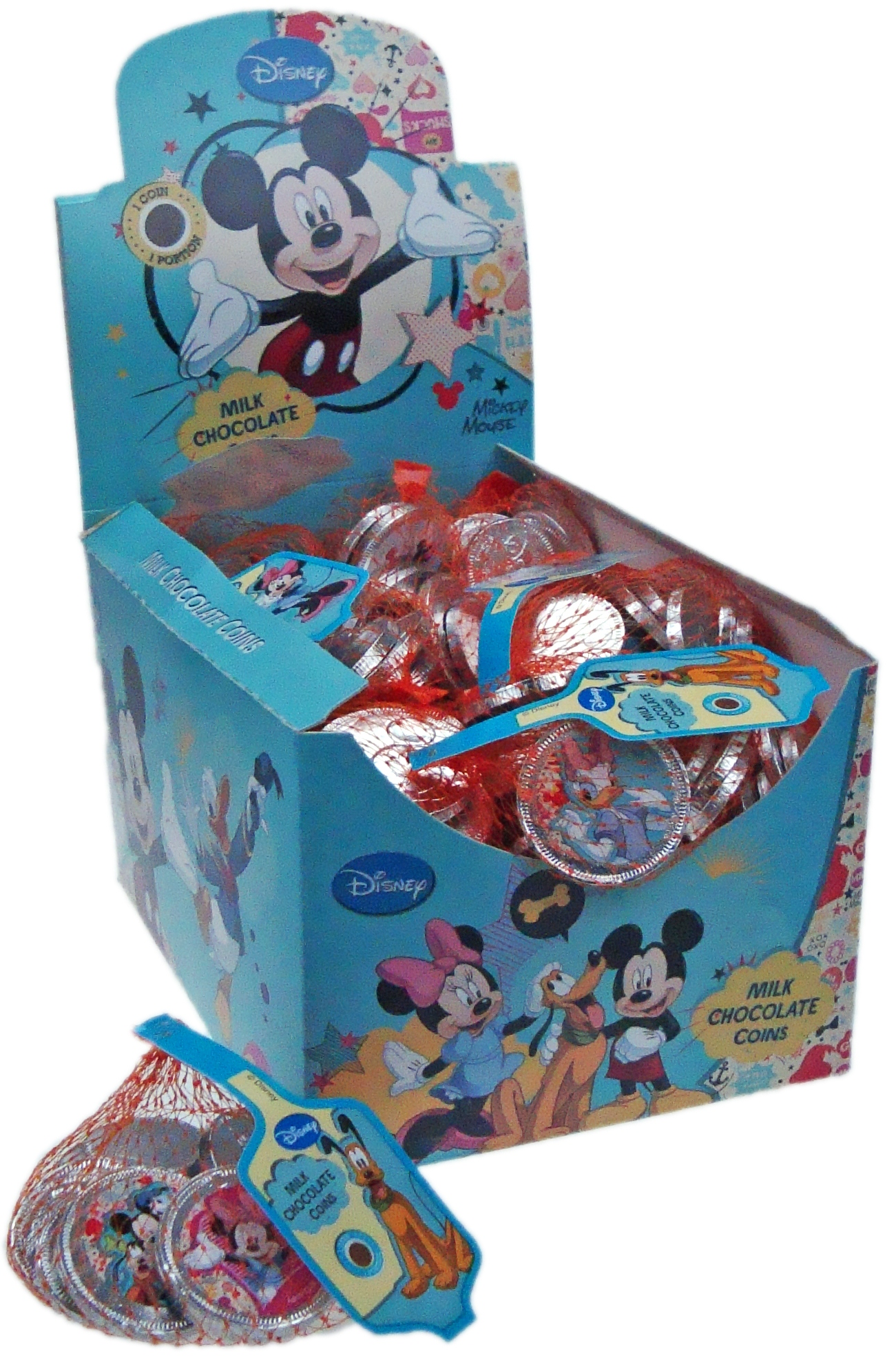 Coins in Net 60gr - Mickey Mouse and friends Image