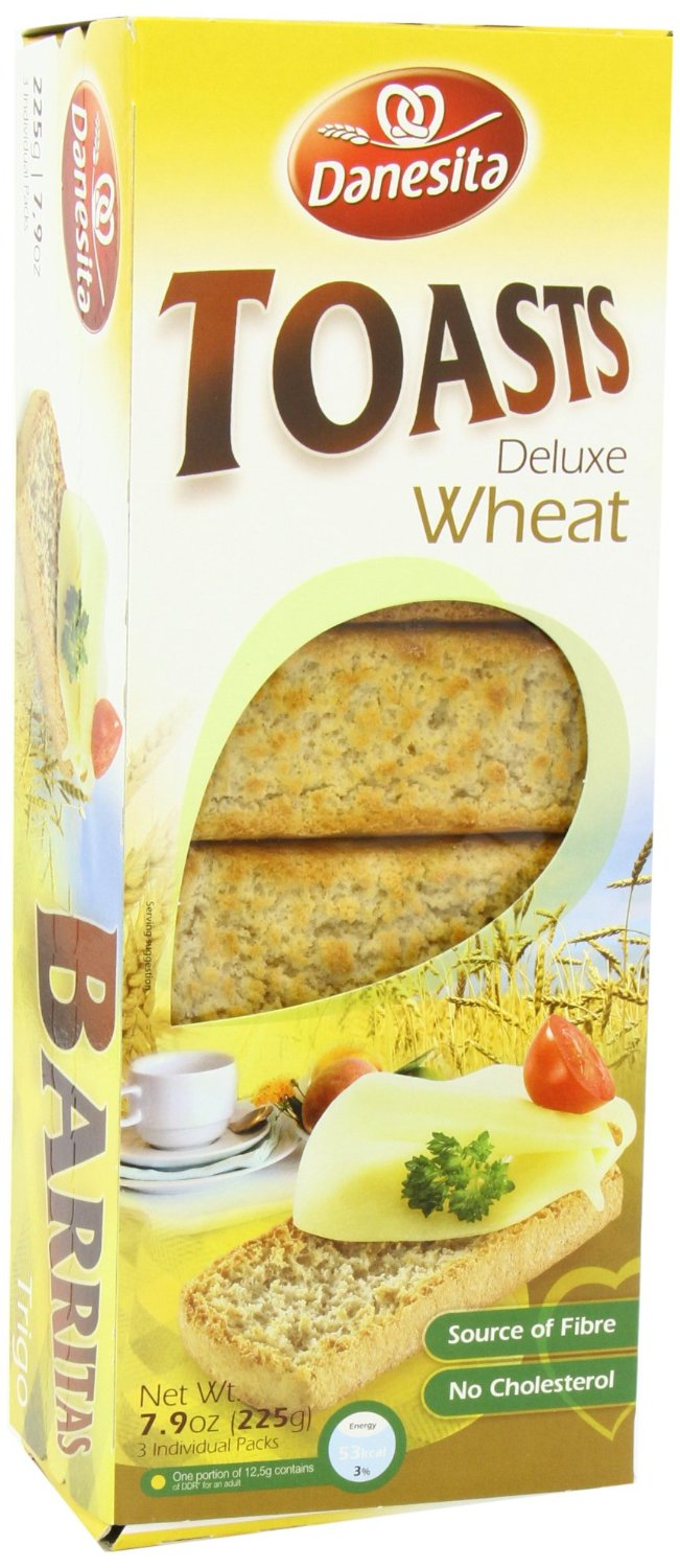 Danesita Deluxe Toasts Wheat 225g Image