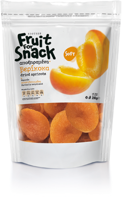 Fruit for Snack Dried Apricots 200g Image