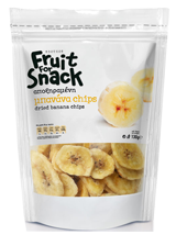 Fruit for Snack Dried Banana Chips 130gr Image