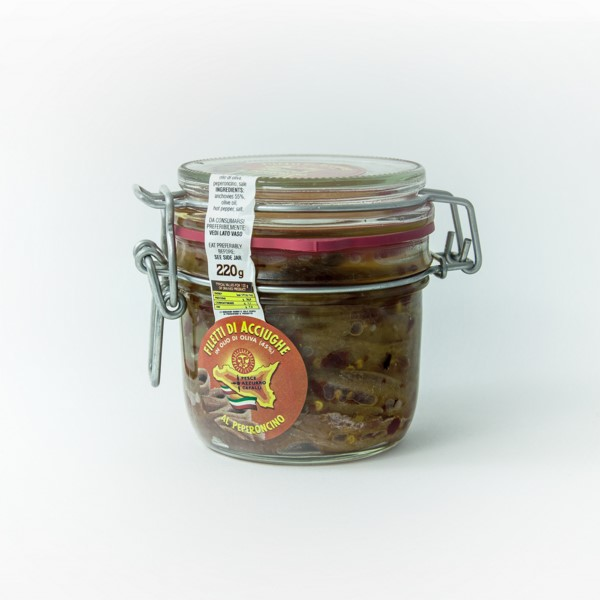 Refiletto Jar 220g with Peppers Image