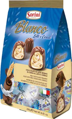Blanco Choc. Bag 250gr Image