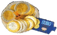 Euro Coins In Net 100gr Image