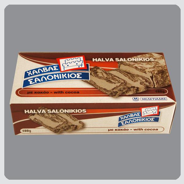 Halva Salonikios Cocoa box 400g Image