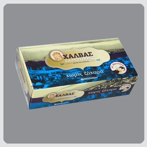 Halva Salonikios Vanilla No Sugar box 400g Image
