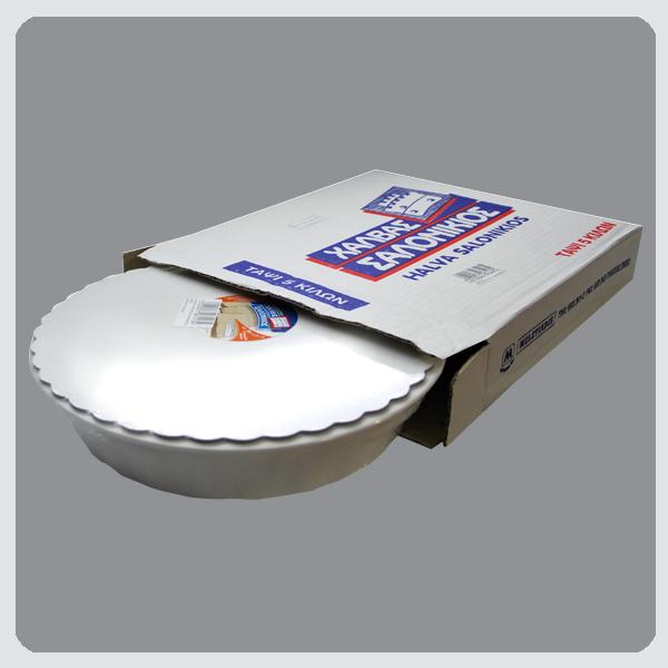 Halva Salonikios Vanilla / Pistachio / Cocoa / Peanut 5kg Round Pan Image