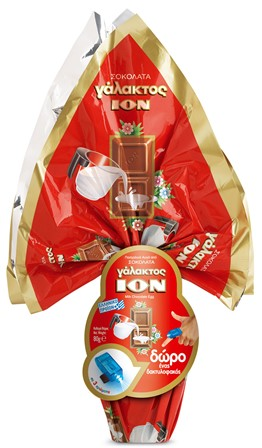 ION Surprise Egg Milk Chocolate 150g Image