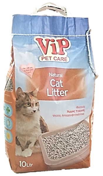ViP Cat Litter 10L Natural Image
